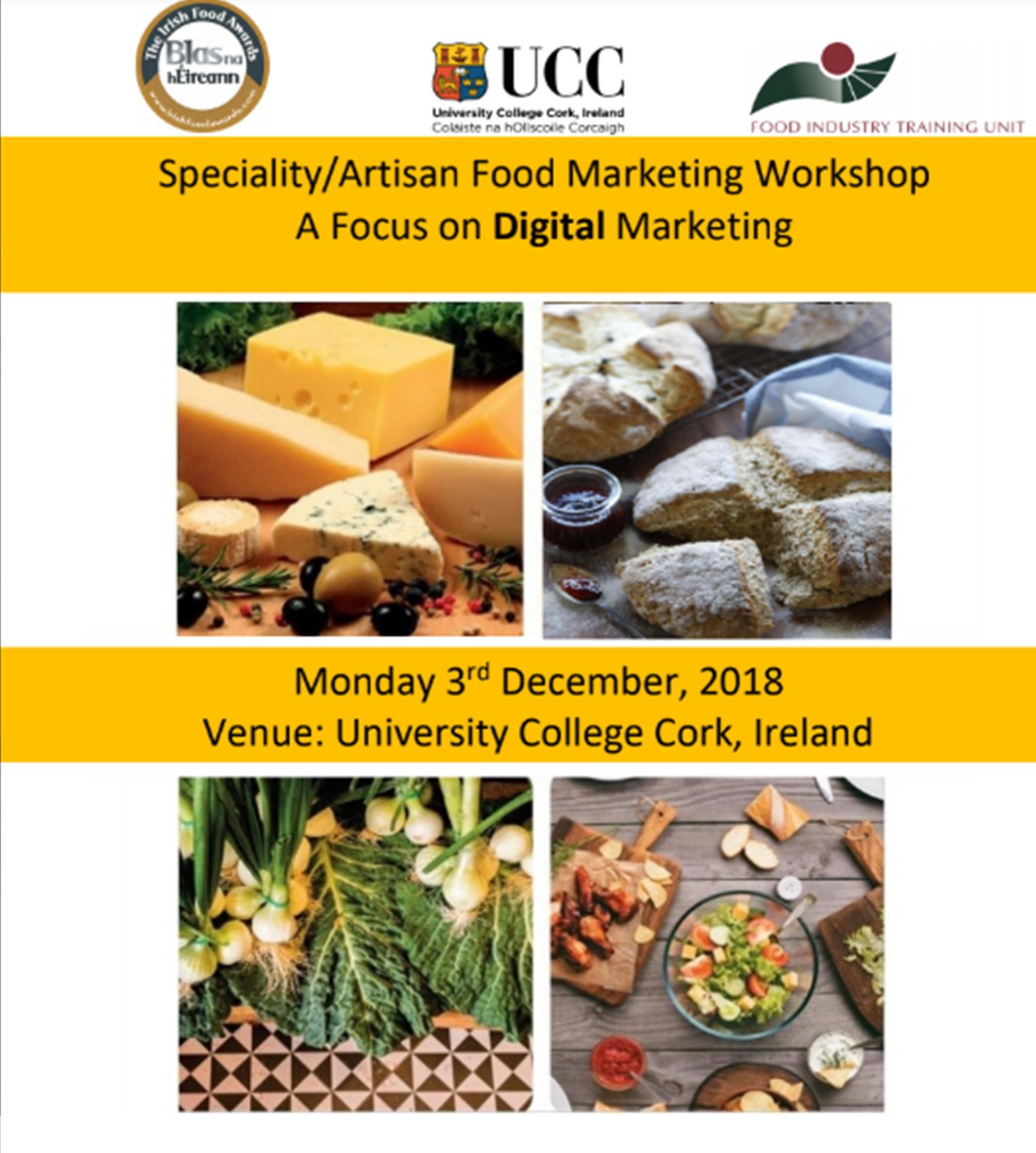 Specialityartisan Food Marketing Workshop Focus On Digital